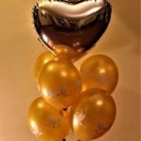 balon foliowy ślub baldeco bukiet