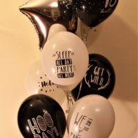 balon foliowy 18 urodziny bukiet baldeco
