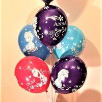 balon foliowy bukiet frozen baldeco