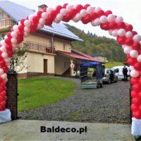 girlanda z balonów brama ślub baldeco (7)