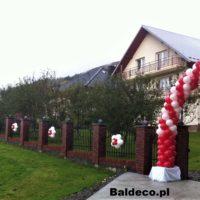 girlanda z balonów brama ślub baldeco (8)