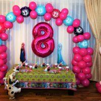girlanda balonowa balony figury
