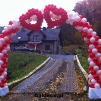 girlanda z balonów brama ślub baldeco (9)
