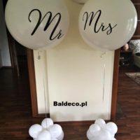 balony z helm,ślub
