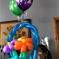 balony z helem,figury balonowe