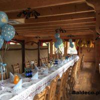 balony z helem,chrzest