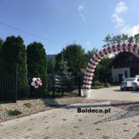 brama z balonów_ślub_