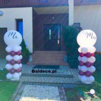 dekoracje z balonów_ślub