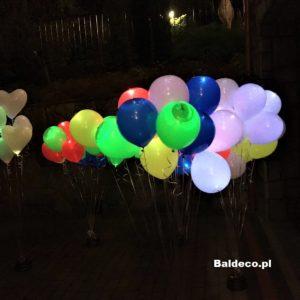 balony z helem_ślub_urodziny